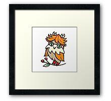 Lovely owlet Framed Print