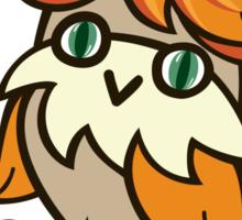 Lovely owlet Sticker