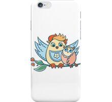 Wonderful birdies iPhone Case/Skin