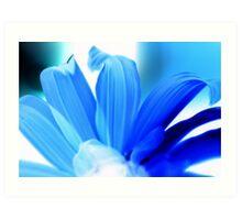 Blue Hues Art Print