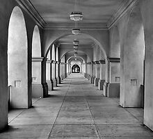 Arches of Balboa Park by Travis Aberle