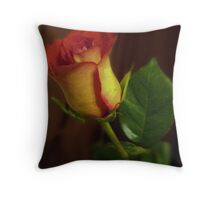 Just One Rose Throw Pillow