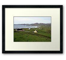 Allihies village Framed Print