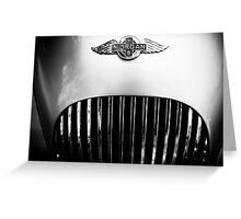 Morgan vintage collection car Greeting Card
