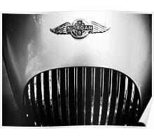 Morgan vintage collection car Poster