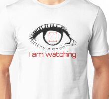I am watching - RED -  POI Unisex T-Shirt