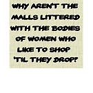 Why aren't the malls? by Marc Grossberg