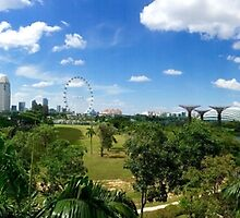 Singapore Pano marina bay sands by grorr76