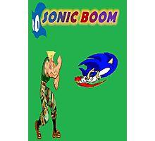 Sonic Boom Photographic Print