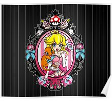 Princess Peach in Pink Poster