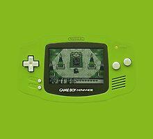Gameboy Classic by EllieDahlena