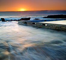 As the Tide Rises - Whale Beach by Paul Pinkley