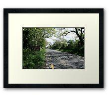 Limerick/Kerry border Framed Print