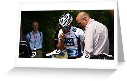 Cancellara ad Riis by Elena Martinello