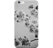 Cloudy Sky (mono) iPhone Case/Skin