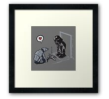 Vader's Dog Framed Print
