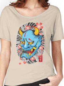 Hanya Demon Mask Women's Relaxed Fit T-Shirt