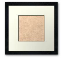 Apricot Illusion Oil Pastel Color Accent Framed Print