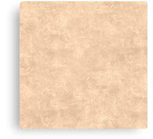 Apricot Illusion Oil Pastel Color Accent Canvas Print