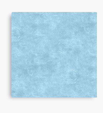 Aquamarine Oil Pastel Color Accent Canvas Print