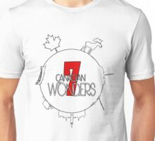 7 Wonders of Canada Unisex T-Shirt