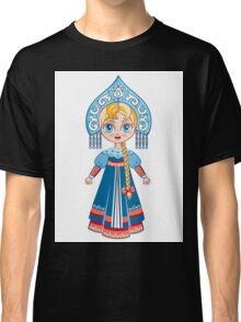 Doll in a national Russian suit Classic T-Shirt