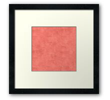Coral Reef Oil Pastel Color Accent Framed Print