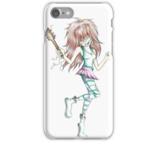 Guitar girl  iPhone Case/Skin