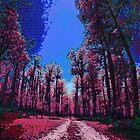 Pink Landscape III by Gal Lo Leggio