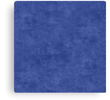 Deep Ultramarine Oil Pastel Color Accent Canvas Print