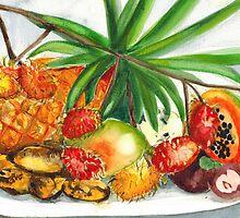 Tropical Fruit by KeLu