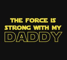 Daddy Force Kids Tee