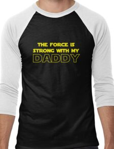 Daddy Force Men's Baseball ¾ T-Shirt