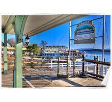 Mount washington Dock Poster