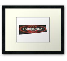 transdanubia acab 1312 Framed Print