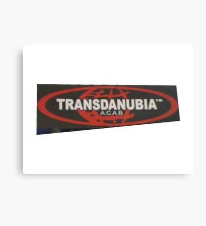 transdanubia acab 1312 Canvas Print