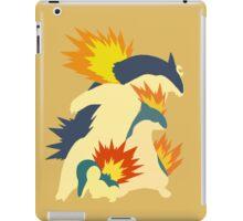 Cyndaquil Evolution iPad Case/Skin