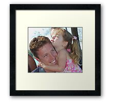 Luv Ya Dad! Framed Print