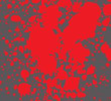 No067 My Pulp Fiction minimal movie poster Sticker
