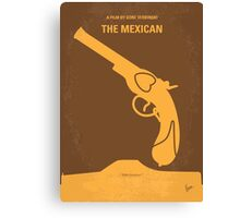 No077 My THE MEXICAN minimal movie poster Canvas Print