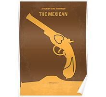 No077 My THE MEXICAN minimal movie poster Poster