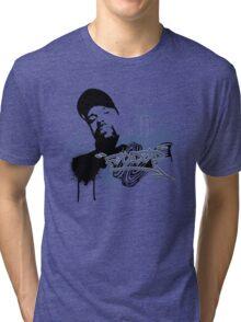 BARB WIRE Tri-blend T-Shirt