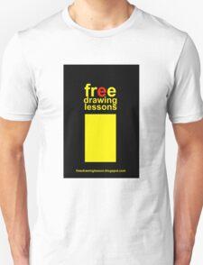 freedrawinglesson 3 Unisex T-Shirt