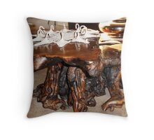 A Most Unusual Table Throw Pillow