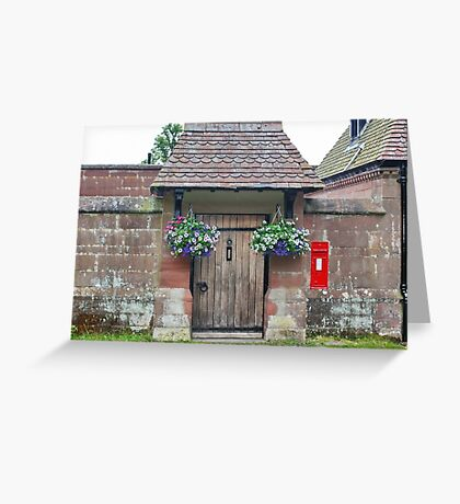 Doorway in the Sandstone Wall Greeting Card