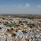 The Blue City Jodhpur by Tony Allen