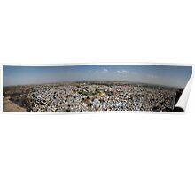 The Blue City Jodhpur Poster