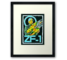 Zorg and the ZF-1 Framed Print