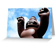 King Ken Greeting Card