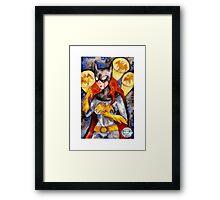 Gotham Babe : B Framed Print